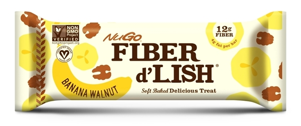 Picture of NuGo Fiber d'Lish Banana Walnut (16 Bars)